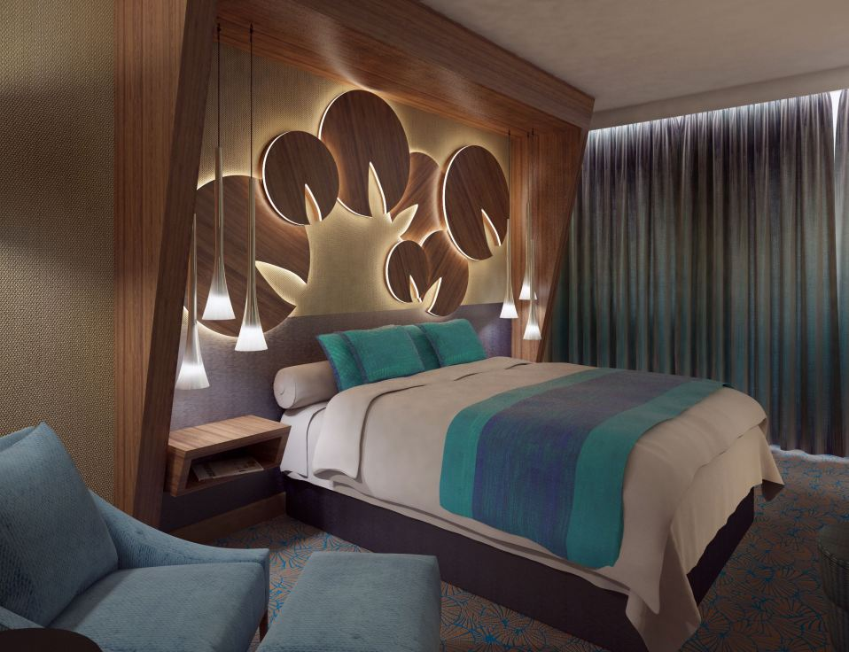Hotel Európa vendégszoba látványterv. Render: Cone Dávid