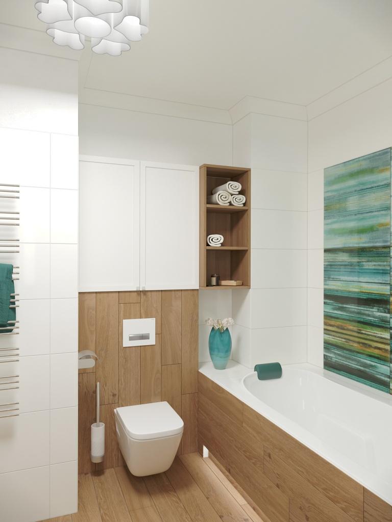 Fürdőszoba látványterv. Render: dotDESIGN